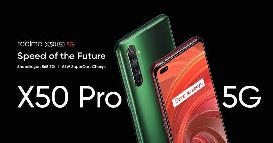 realme 推首款 5G 旗艦 X50 Pro,35 分鐘充飽電、售價換算台幣兩萬有找