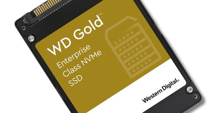 6 色戰隊金標添成員,WD Gold 新增企業級 U.2 NVMe SSD,享有 0.8 DWPD 與 5 年保固