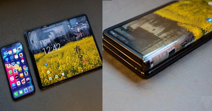 TCL 發表三摺的摺疊手機,展開比 9.7 吋 iPad 還大