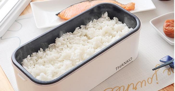 上班族福音!這款「超高速便當炊飯器」要讓你的午餐白飯永遠新鮮現煮
