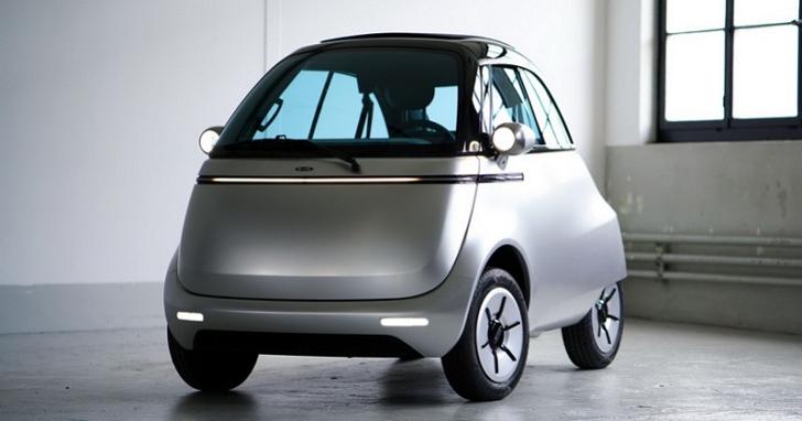 難道是微型車始祖 BMW Isetta?其實是 Microlino 2.0 復古電動車!