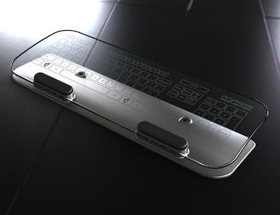 你心中未來觸控鍵盤、滑鼠長這樣嗎?