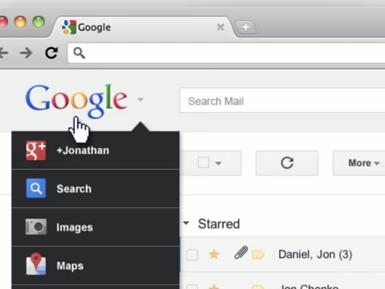 黑色 Google 功能列即將退場,清新下拉式選單搶先看