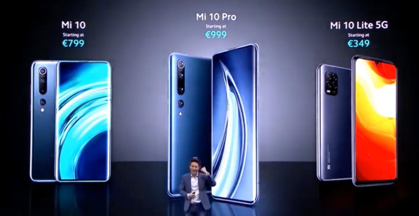小米 10 國際版發表,台灣有機會引進!並且加推平價 5G 版小米 10 Lite 5G