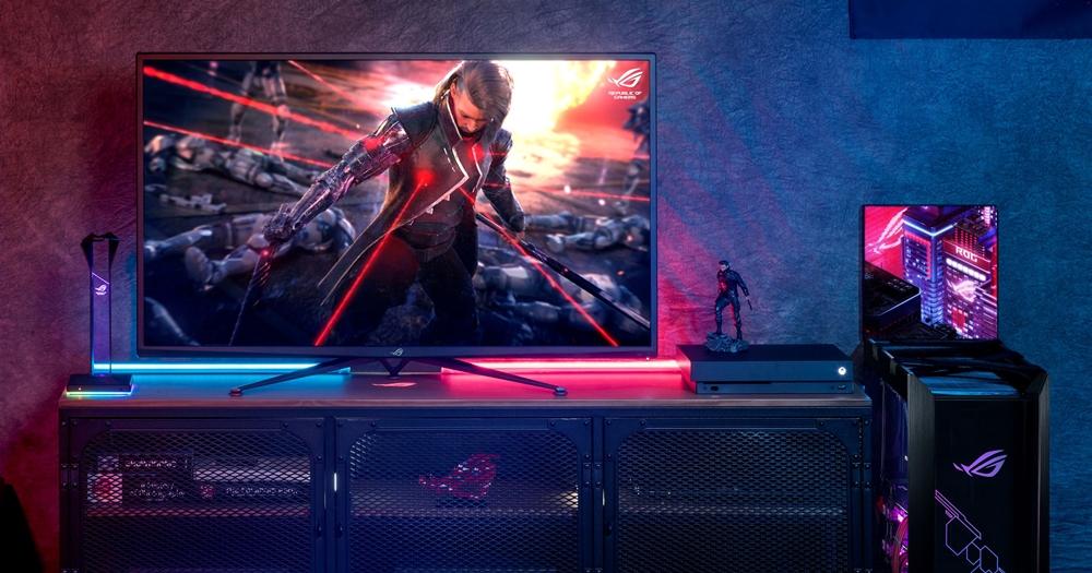 售價直逼 5 萬!華碩 ROG Swift PG43UQ 世界第一款 43 吋 DSC 電競螢幕今日推出