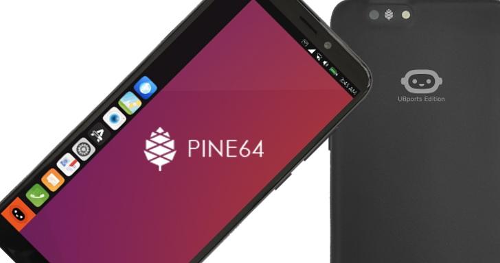Pinephone手機再進化,預載UBports作業系統一樣只賣4,600元