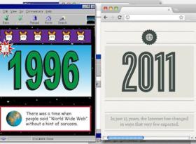 1996年對決2011年的網際網路,如今誰還是前10大網站?