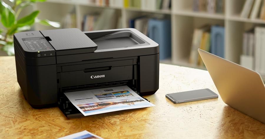 Canon 多功能印表機推促銷,幫助居家辦公更順利