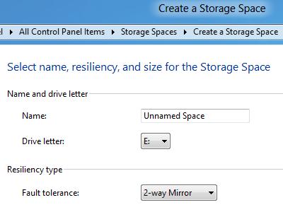 Windows 8 Build 8158 曝光,Storage Space 預防硬碟再起不能