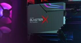 Creative推出Sound BlasterX AE-5 Plus音效卡,當然少不了炫炮RGB效果