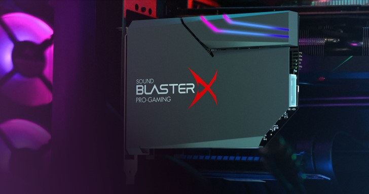 Creative推出Sound BlasterX AE-5 Plus音效卡,當然少不了炫炮RGB效果