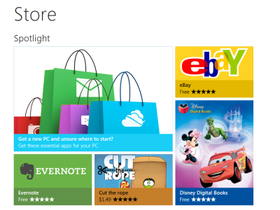 Windows 8 新訊,微軟發表 Windows Store 線上商店