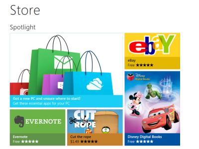 Windows 8 新訊,微軟發表 Windows Store 線上商店