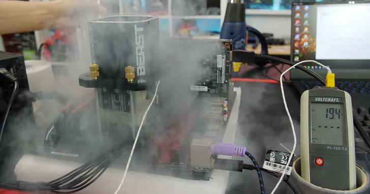 CPU 時脈高就是王道?他把 AMD 處理器超頻到 8.1GHz,結果跑分成績慘不忍睹
