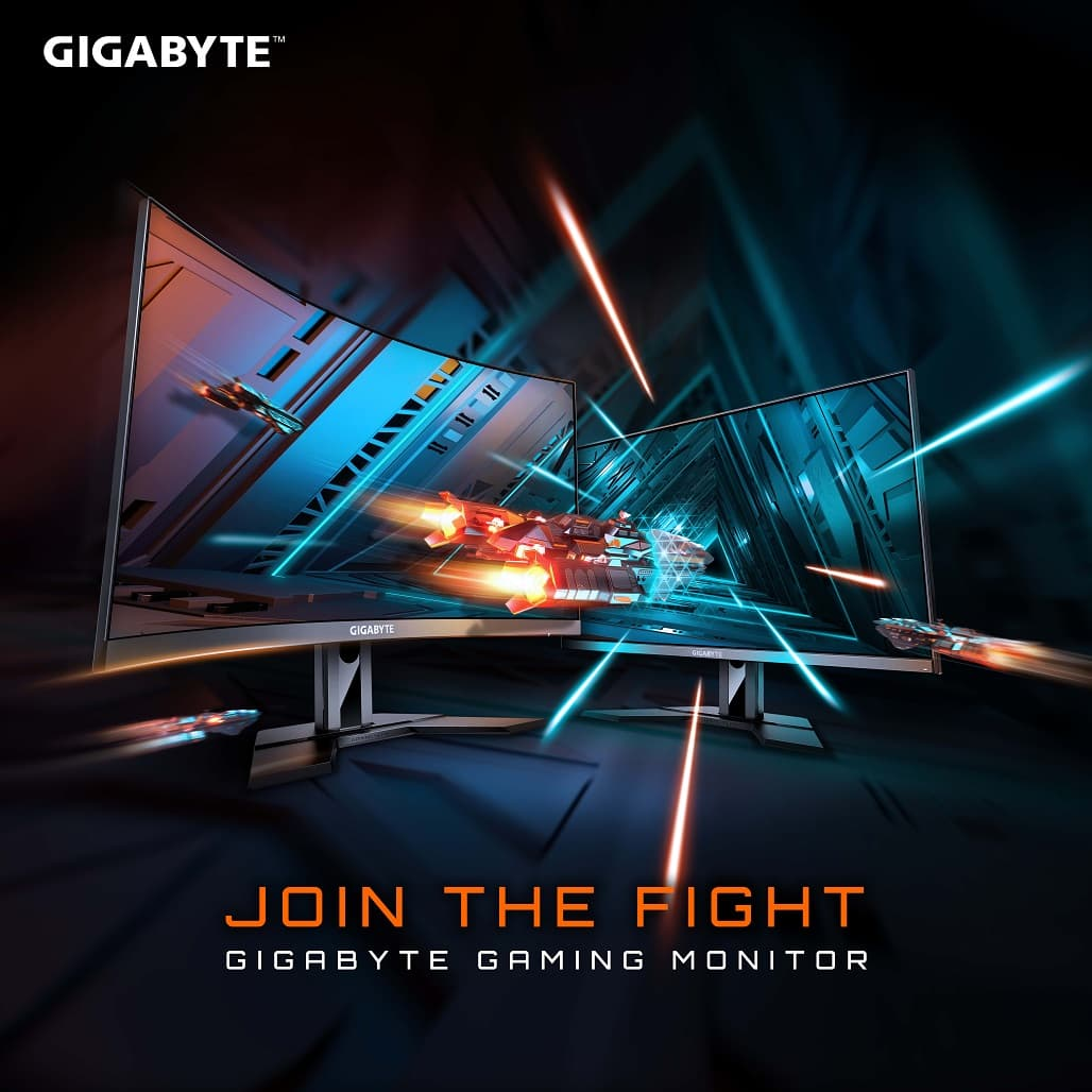 久等了,GIGABYTE電競螢幕隆重上市!