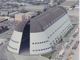 Google 想砸3300萬美金修復矽谷飛船機庫,借放8架私人飛機