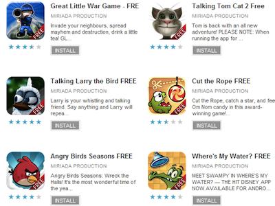 小心!Android Market 出現 22款詐騙用戶簡訊費的 Apps