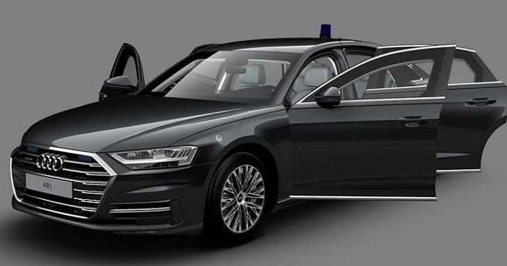 覺得自己沒有安全感嗎?Audi A8 L Security 不只防彈還有「車載爆破系統」