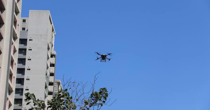 遠傳以高空無人機360°優化5G網路,全面加速5G開台