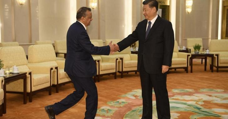 難怪就是不邀請台灣!中國外交部發言人表示,譚德塞早已邀請習近平在WHA開幕式致詞