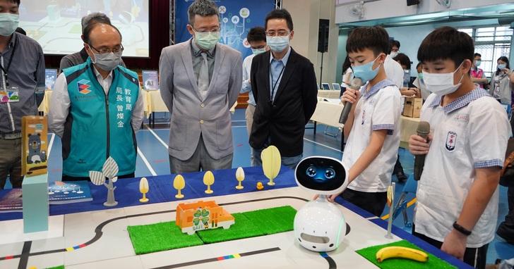 華碩攜手臺北市政府教育局,提供Zenbo Junior智慧機器人寓教於樂