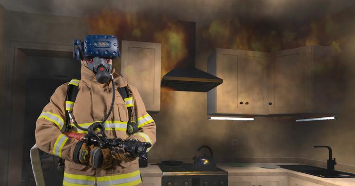 HTC VIVE顛覆教育訓練,助消防員培訓再升級