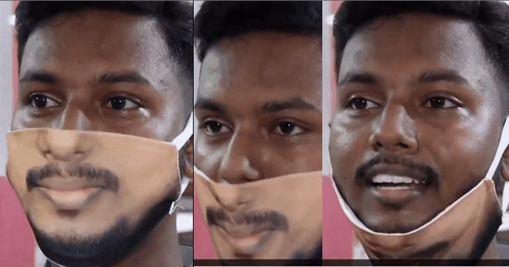 印度推出人臉口罩:100%還原面部 可多次反覆使用