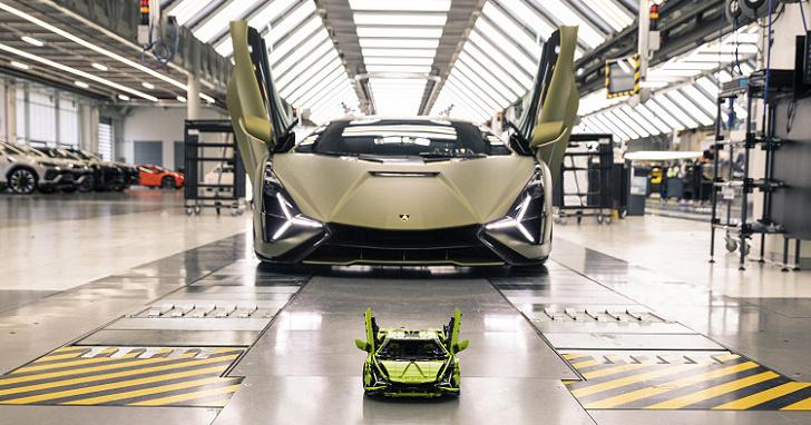 Lamborghini Sián FKP 37 樂高版台灣上市,要價台幣 1 萬 2