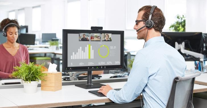 邁向遠距生活新時代,羅技推出Zone Wired有線耳機麥克風