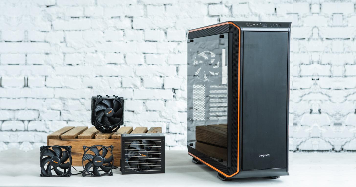 來自德國的 be quiet!!從品牌名稱就能看出產品特色?給你高效能散熱與極致靜音的電腦使用體驗!