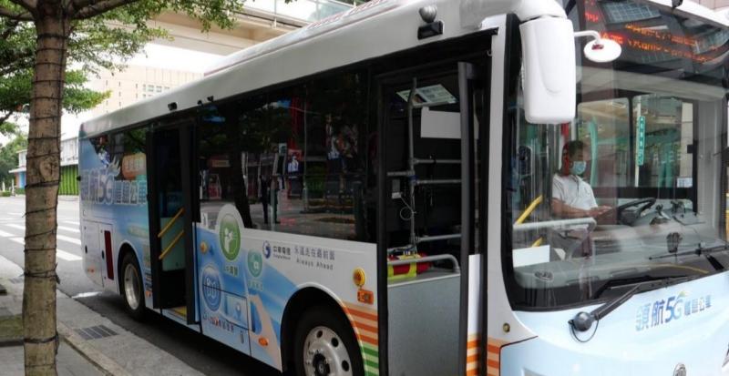 中華電信版 5G 智慧公車台北首發! 6/11 至 7/2 止信義區開放試乘,停靠站在這兩處