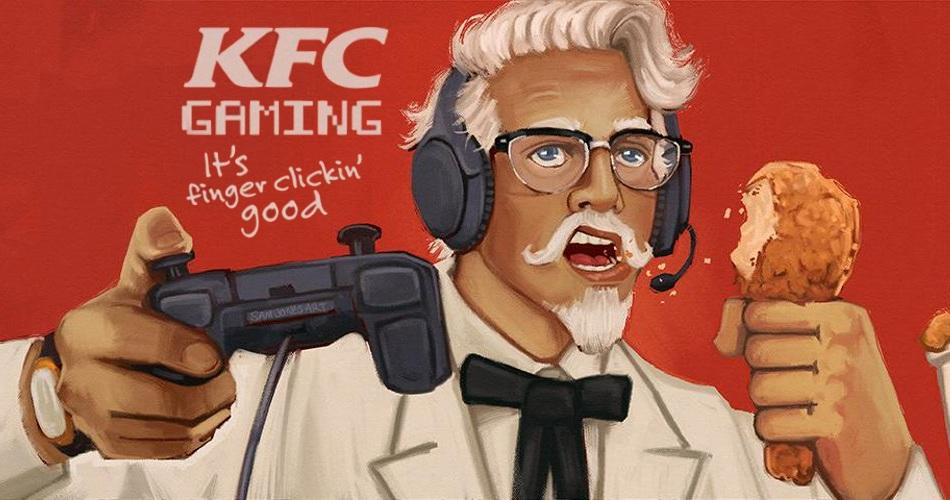到底是炸機還是炸雞?肯德基公佈新款遊戲主機 KFC Console 預告影片