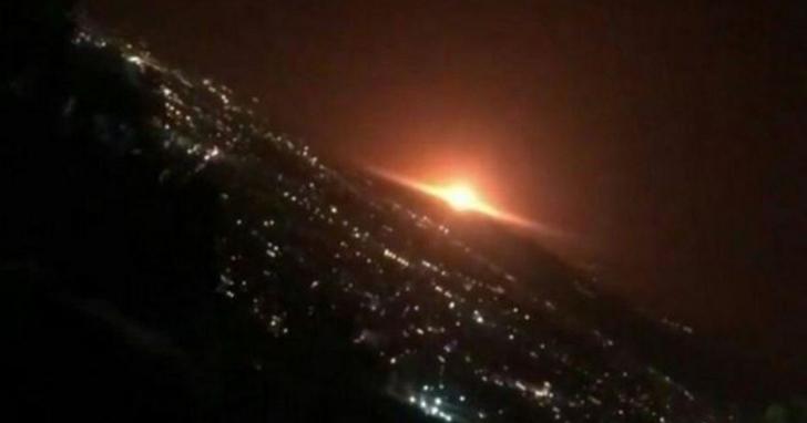 伊朗首都德黑蘭附近發生神秘爆炸,歐洲衛星照片顯示可能是地下導彈基地發生意外