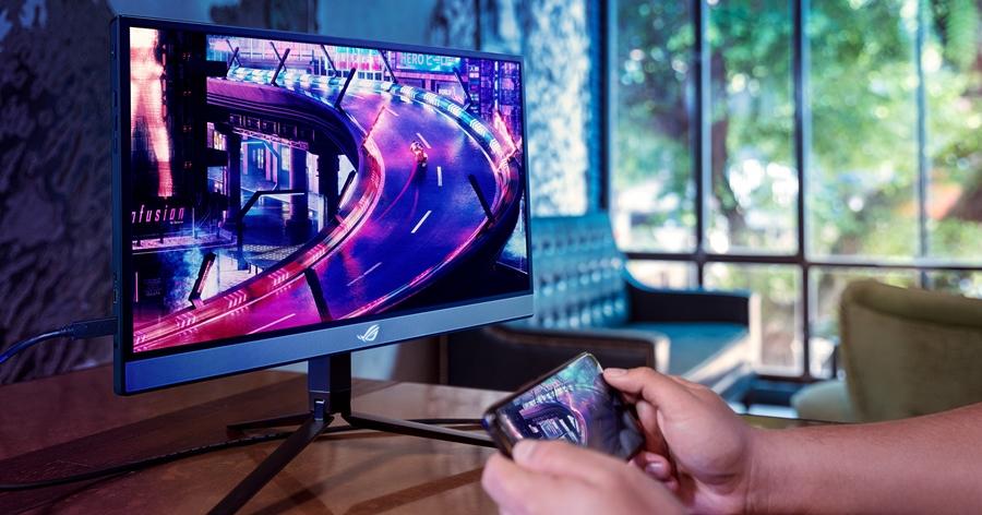 電競螢幕帶著走!華碩推出 240Hz 可攜式電競螢幕 ROG Strix XG17AHP