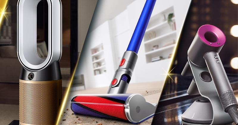 Dyson 也提供振興券優惠,買吸塵器、直髮器再回饋 3,000 元