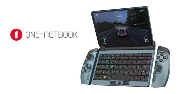 One Netbook OneGx1遊戲迷你筆電,採用類似Switch的變型手把設計