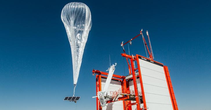 Google 的高空網路氣球在肯亞推出 4G 上網服務,訊號範圍達 50,000 平方公里