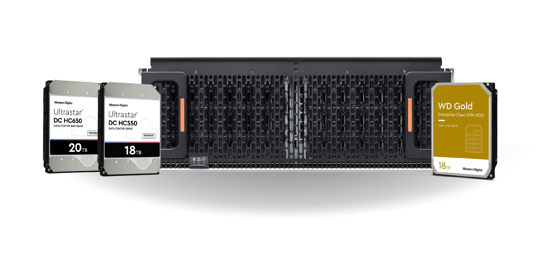 Western Digital企業級容量硬碟領導地位技術擴展至資料中心解決方案系列 從而實現無與倫比的總整體擁有成本
