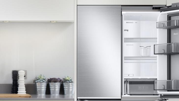 三星全新三循環多門旗艦冰箱,打造居家健康星食尚