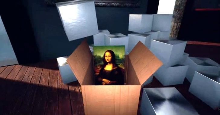 「占領白牆」:用遊戲將倫敦國家美術館進行一場史上最大「洗劫」