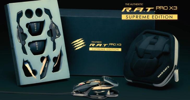 鼠年限定鼠,Mad Catz推出R.A.T. PRO X3 Supreme Edition電競滑鼠