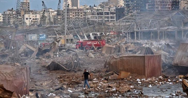 黎巴嫩首都貝魯特港發生大爆炸,至少70人死亡、4000多人輕重傷、數公里內建築均受波及搖晃