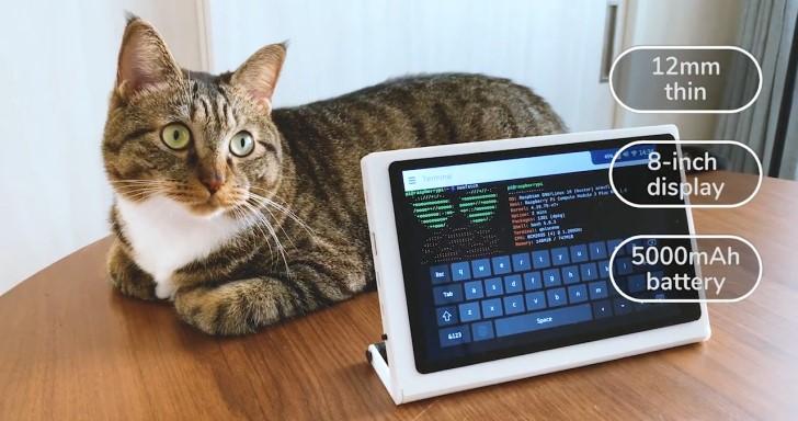 CutiePi平板有提把,利用Raspberry Pi運算模組打造土砲平板電腦