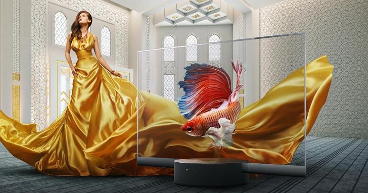 小米推出第一款量產透明電視「小米透明電視」、 55 吋OLED螢幕,價格挑戰信仰突破台幣21萬