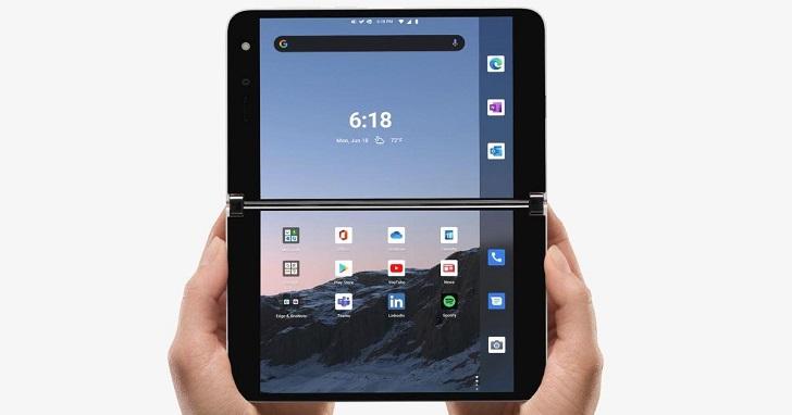 微軟雙螢幕手機 Surface Duo 開放預購,售價 1,399 美元、9 /10 美國上市