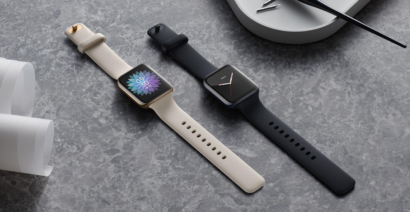 OPPO Watch 智慧錶登台,21 天超長續航力、運動健康監測、售價 6,990 元起
