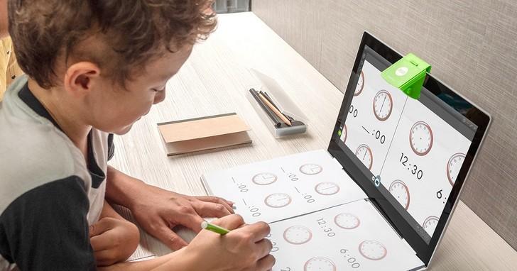 翻轉筆電新鏡界,愛比科技推出數位學習小幫手「IPEVO Mirror-Cam」