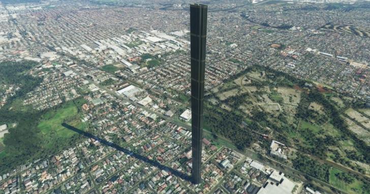 一個錯字導致《微軟模擬飛行》中出現巨型212層「煙囪」