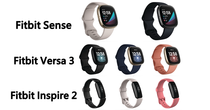 Fitbit Sense 健康智慧錶登場:兼具壓力管理 & 心電圖應用程式!Inspire 2 和 Versa 3 同步亮相