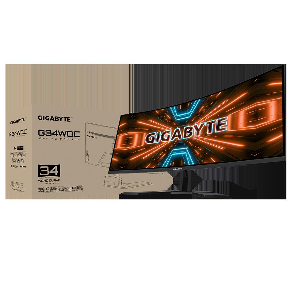 看片打GAME雙享受,技嘉Ultra-wide 34吋電競螢幕強勢登場!